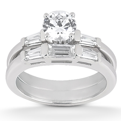 Taryn Collection 18 Karat Diamond Engagement Ring TQD A-001 Alternative View 1