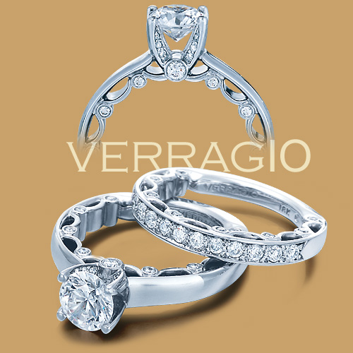 Verragio 18 Karat Paradiso Engagement Ring Paradiso-3040 R Alternative View 1