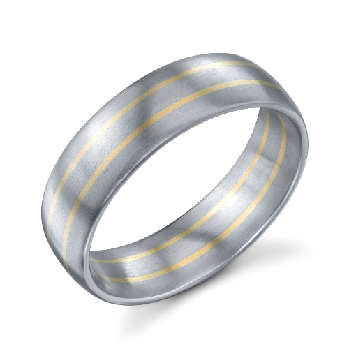 272724 Christian Bauer Pd - 18K - Pd Wedding Ring / Band Alternative View 1