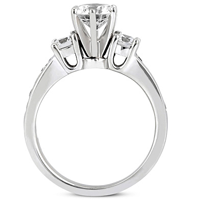 Taryn Collection 14 Karat Diamond Engagement Ring TQD 2336 Alternative View 2
