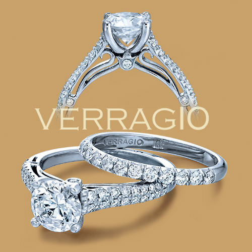 Verragio 18 Karat Couture Engagement Ring Couture-0394 Alternative View 1