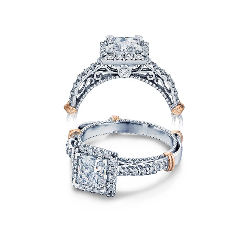 Verragio Parisian-123P Platinum Engagement Ring