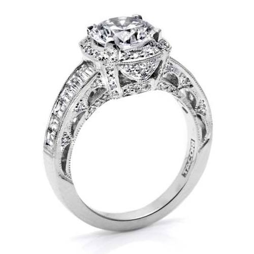 Tacori Crescent 18 Karat Engagement Ring HT253112X Alternative View 1