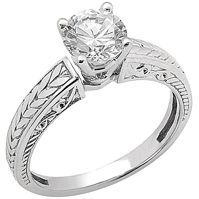 Taryn Collection 14 Karat Diamond Engagement Ring TQD 6571
