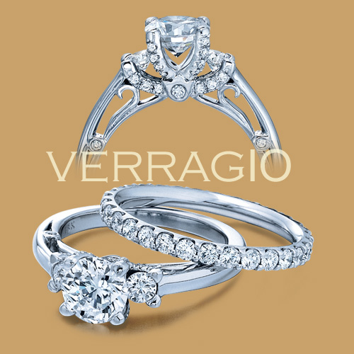 Verragio 18 Karat Couture Engagement Ring Couture-0396 Alternative View 1