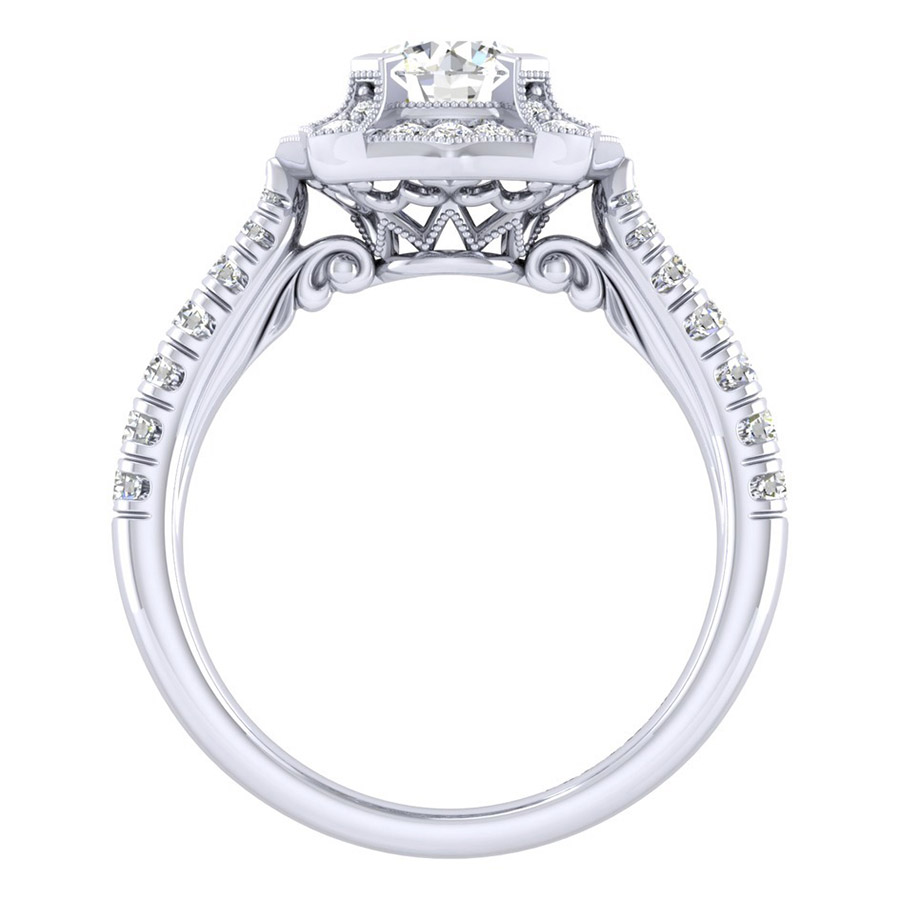 Gabriel 14 Karat Perfect Match Engagement Ring ER039B3ADW44JJ Alternative View 1