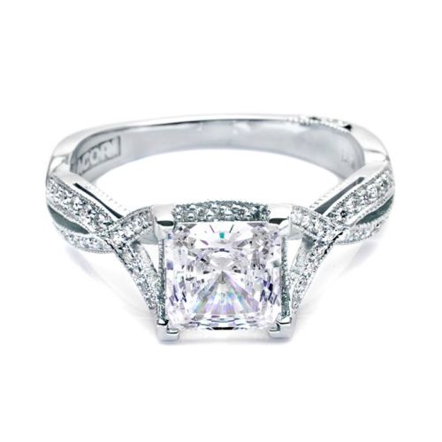 Tacori 2565PRMD6 Platinum Simply Tacori Engagement Ring Alternative View 2