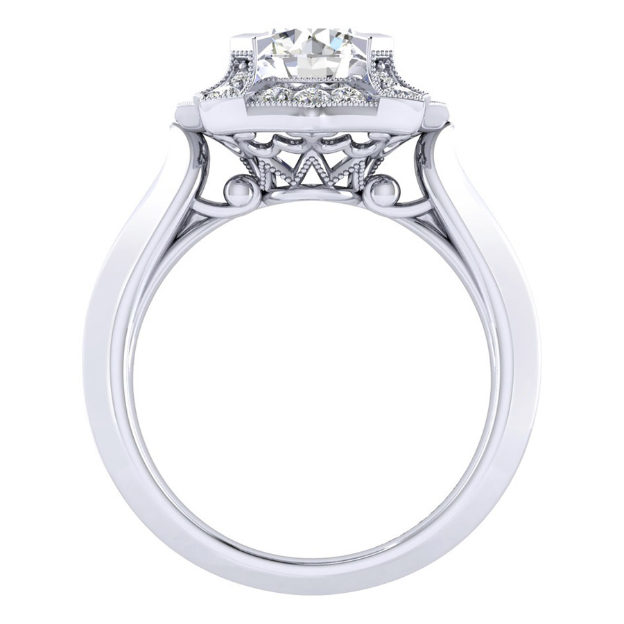 Gabriel 14 Karat Perfect Match Engagement Ring ER001C6ADW44JJ Alternative View 1
