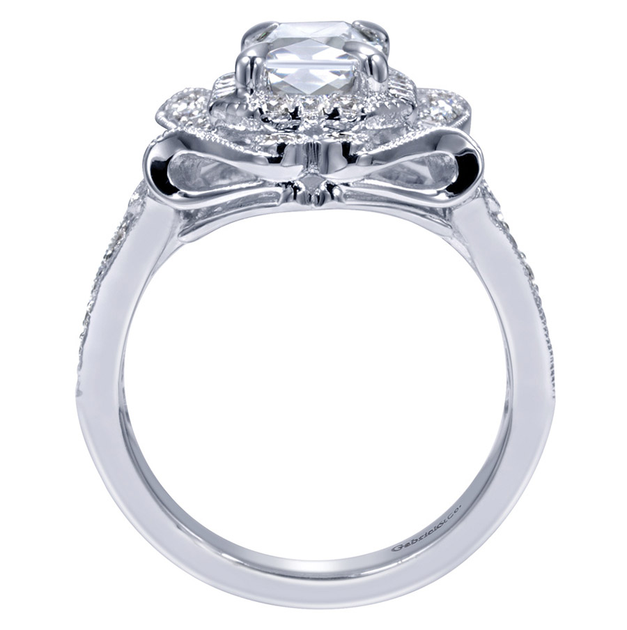 Gabriel 14 Karat Victorian Engagement Ring ER8940W83JJ Alternative View 1