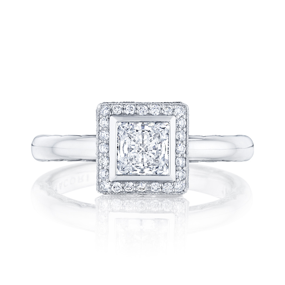 303-25PR5 Platinum Tacori Starlit Engagement Ring