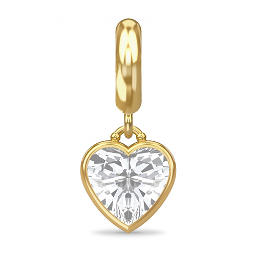 Endless Jewelry Eternity Love 18k Gold Plated Charm 53370 ...