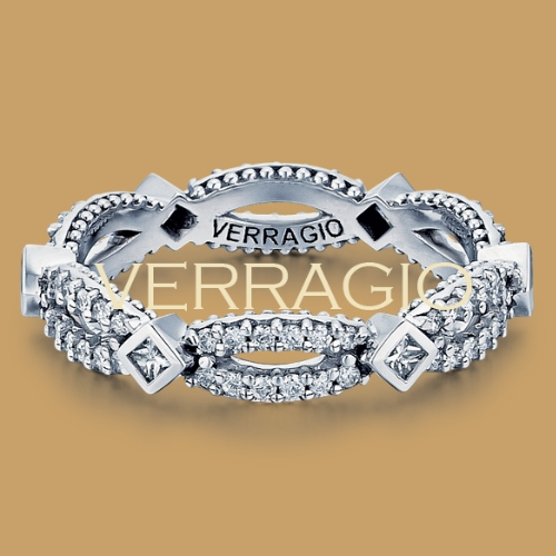 Verragio Parisian-W103P 18 Karat Diamond Eternity Ring / Band Alternative View 1