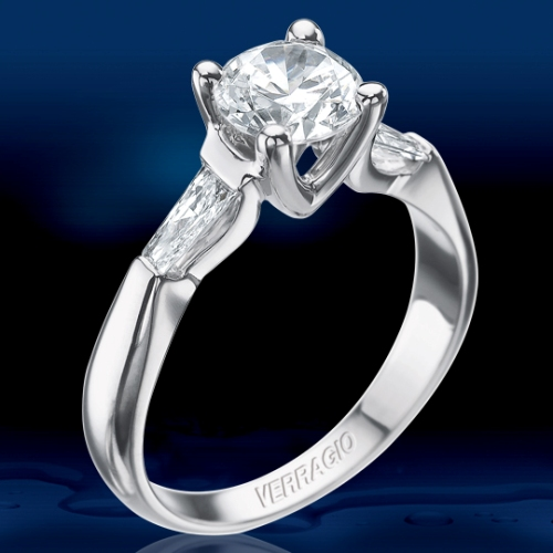 Verragio Platinum Classico Engagement Ring VER-0015