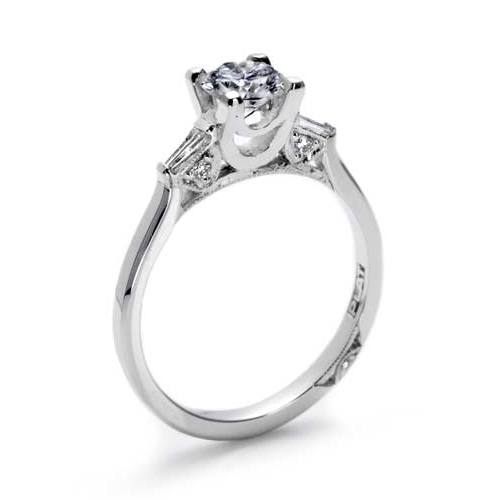 Tacori 18 Karat Simply Tacori Engagement Ring 2592RD55 Alternative View 1