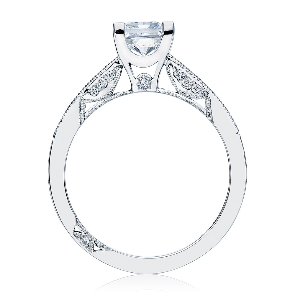 2576SMPR55 Platinum Simply Tacori Engagement Ring Alternative View 1