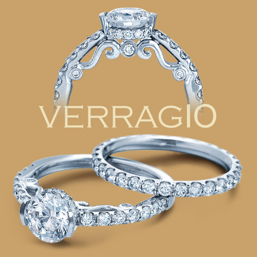 Verragio 18 Karat Insignia Engagement Ring INS-7006 Alternative View 1