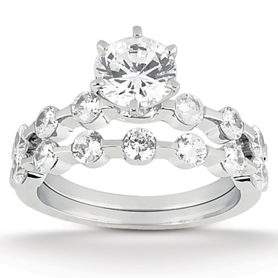Taryn Collection 18 Karat Diamond Engagement Ring TQD A-0751