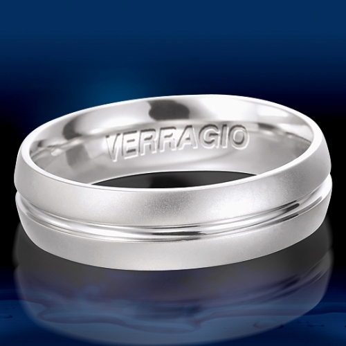 Verragio Platinum Wedding Band VW-6011 Alternative View 1
