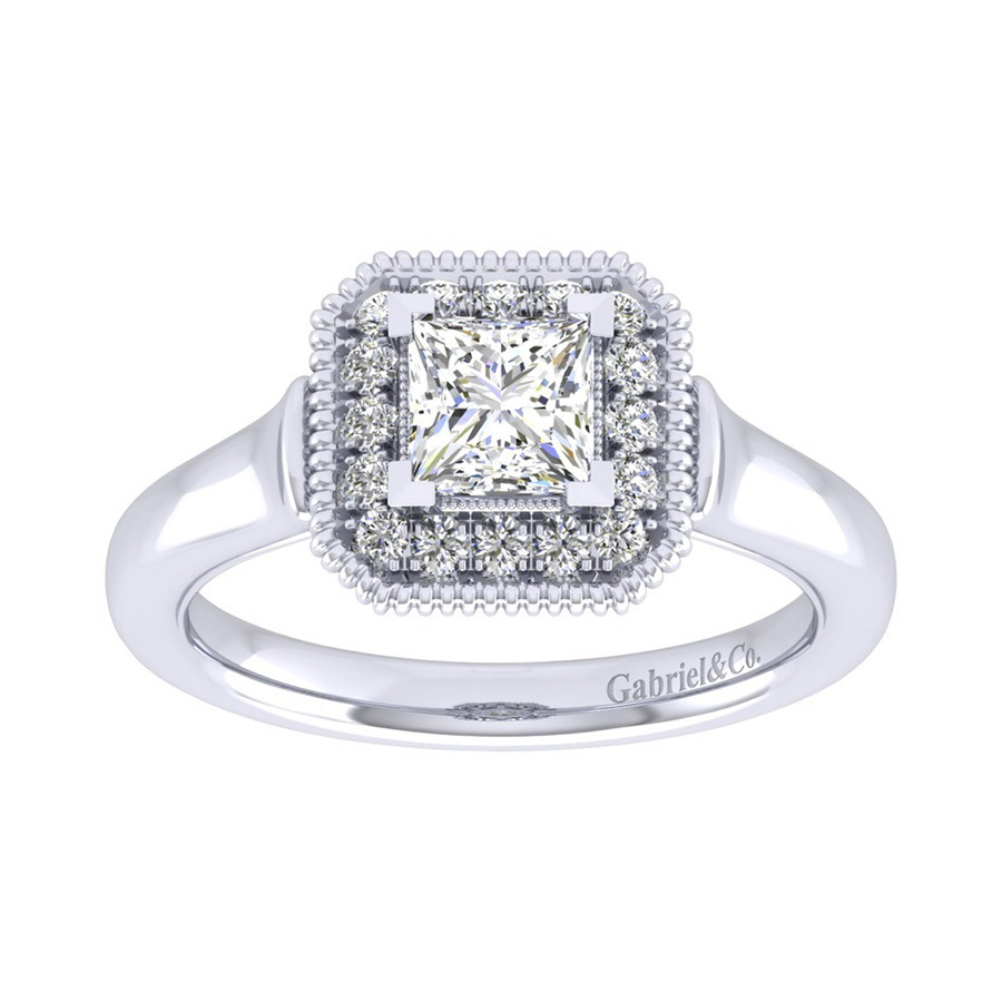 Gabriel 14 Karat Perfect Match Engagement Ring ER009B3ALW44JJ Alternative View 4