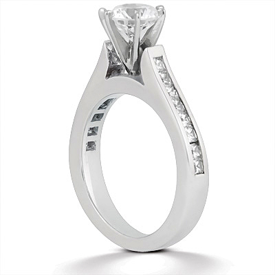 Taryn Collection 14 Karat Diamond Engagement Ring TQD A-778 Alternative View 1