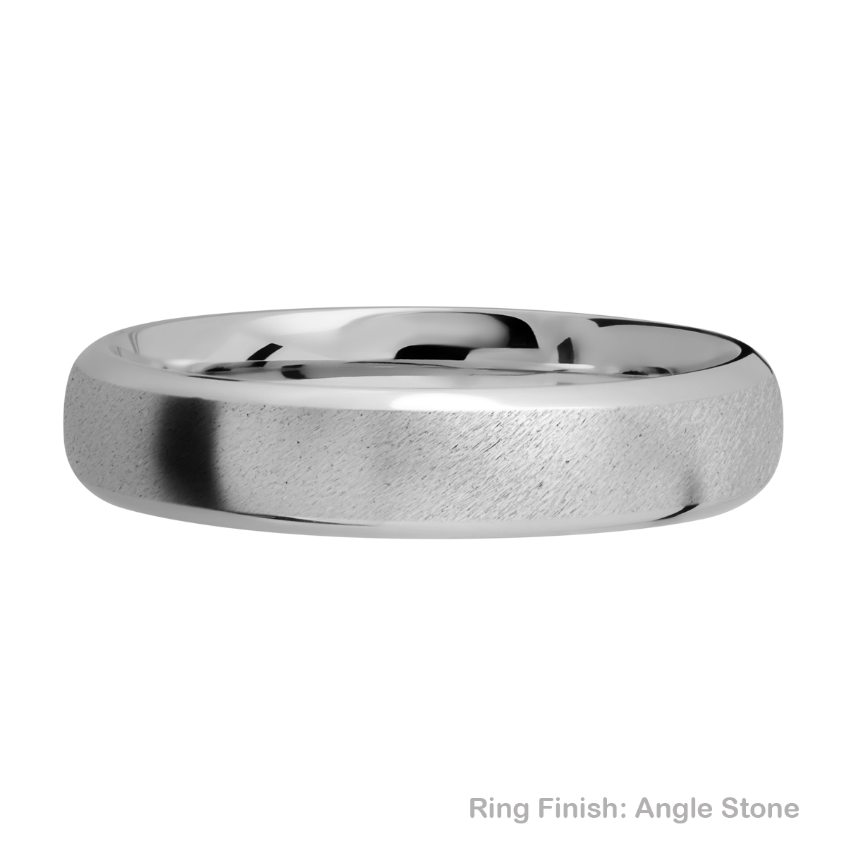 Lashbrook 5DB Titanium Wedding Ring or Band Alternative View 8