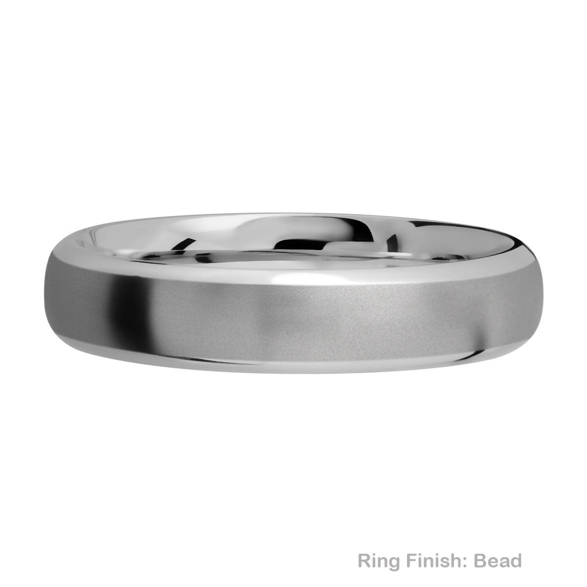 Lashbrook 5DB Titanium Wedding Ring or Band Alternative View 2