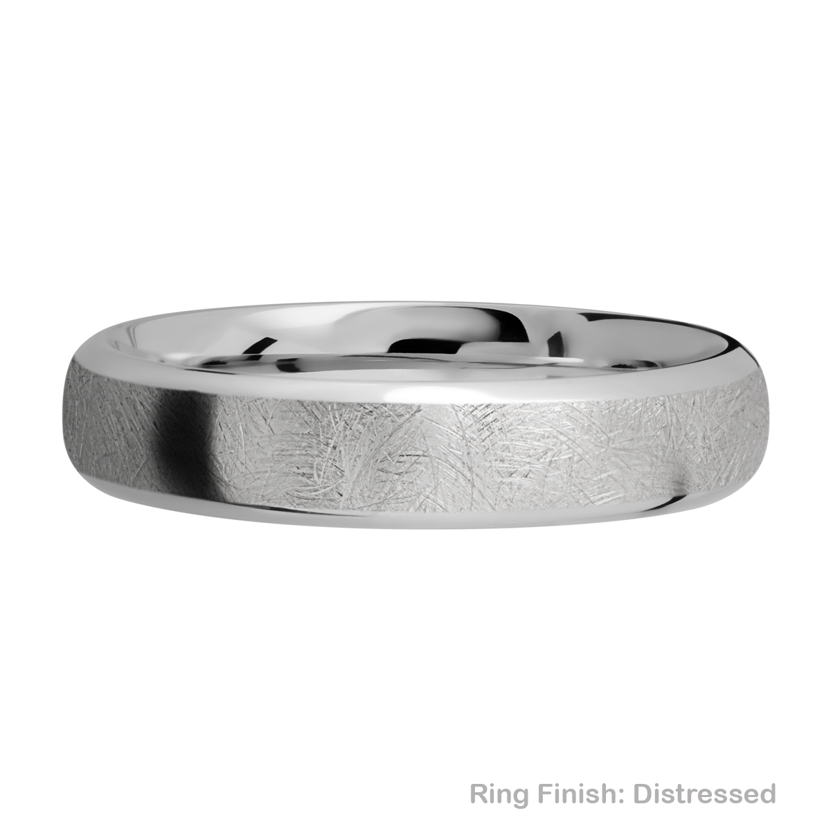 Lashbrook 5DB Titanium Wedding Ring or Band Alternative View 12
