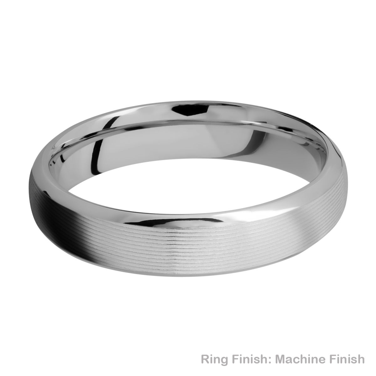 Lashbrook 5DB Titanium Wedding Ring or Band Alternative View 13