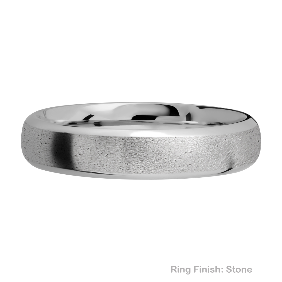 Lashbrook 5DB Titanium Wedding Ring or Band Alternative View 6