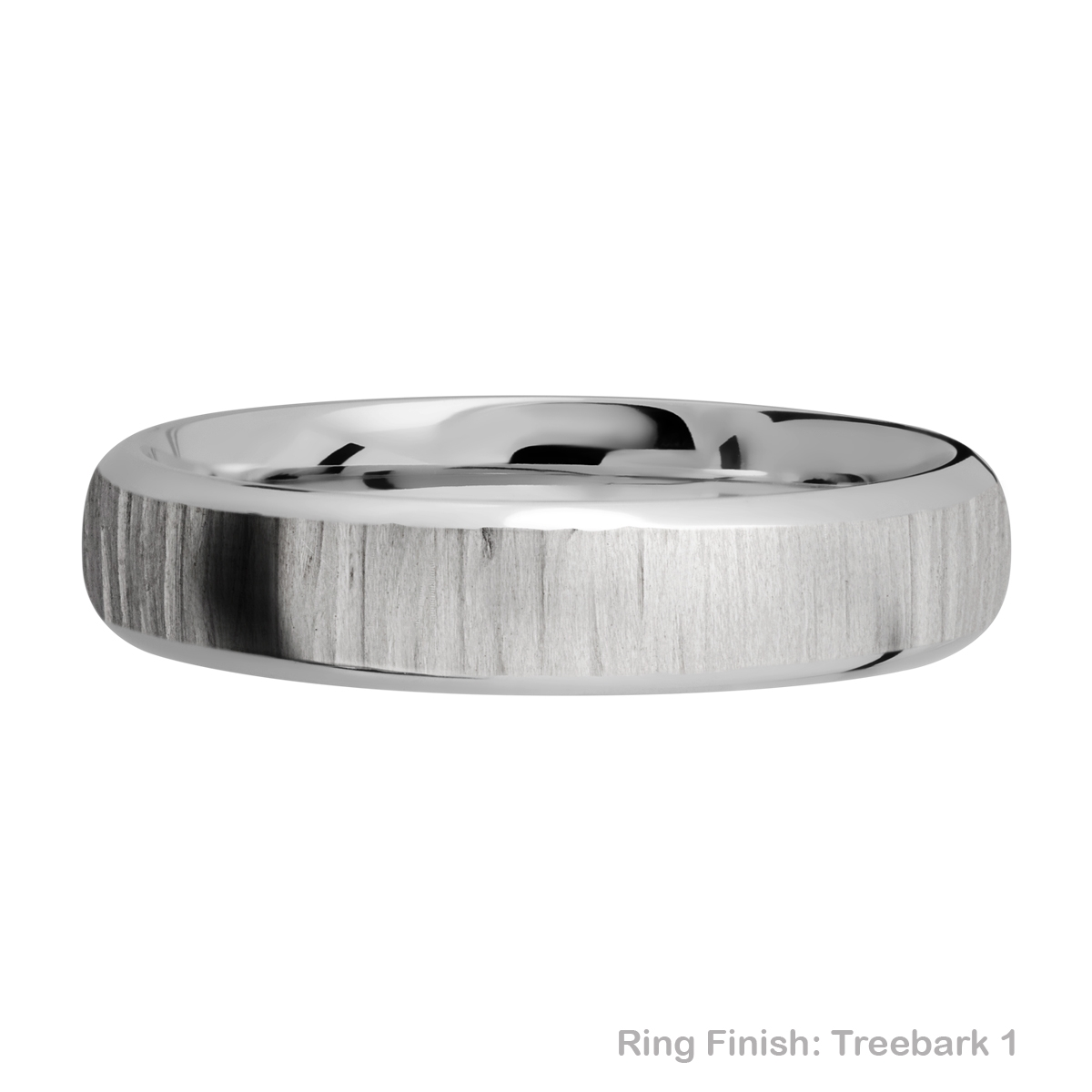 Lashbrook 5DB Titanium Wedding Ring or Band Alternative View 11