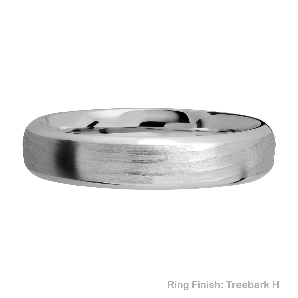 Lashbrook 5DB Titanium Wedding Ring or Band Alternative View 10