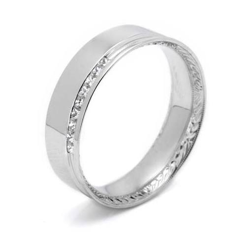 Tacori 2556PR 18 Karat Crescent Wedding Band Alternative View 3