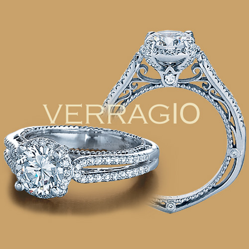 Verragio Venetian-5014R 18 Karat Engagement Ring Alternative View 1
