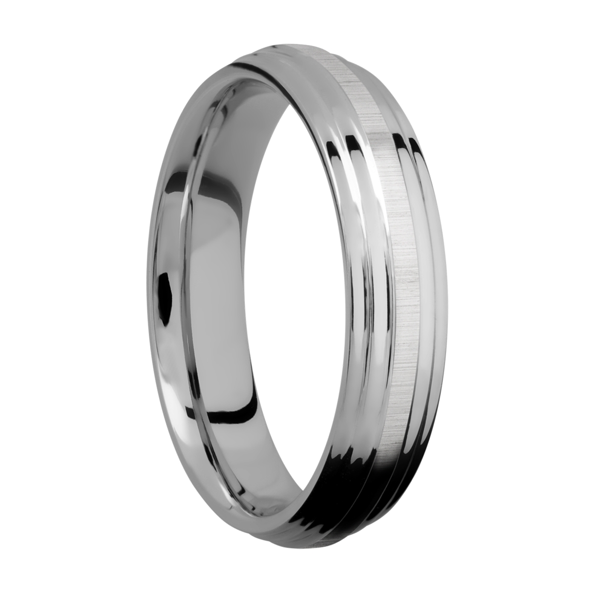 Lashbrook 5F2S Titanium Wedding Ring or Band Alternative View 1