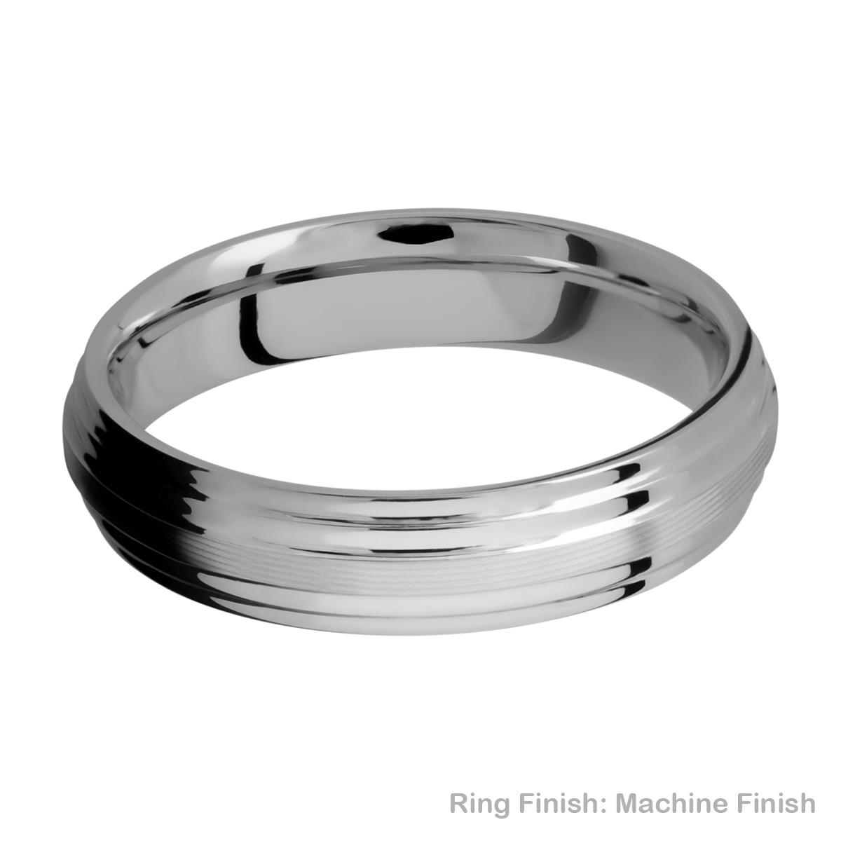 Lashbrook 5F2S Titanium Wedding Ring or Band Alternative View 15