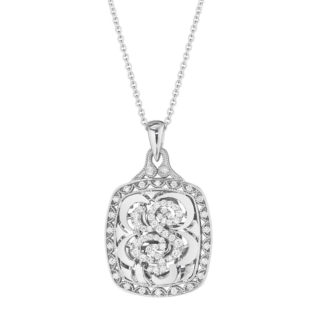 tacori diamond necklace 18 karat fine jewelry fp663s