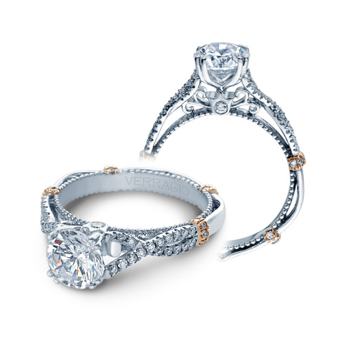 Verragio Parisian-DL105 18 Karat Engagement Ring