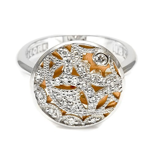 Tacori Diamond Ring 18 Karat Fine Jewelry FR806