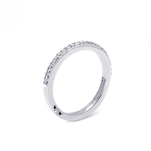 Tacori 18 Karat Simply Tacori Wedding Band 2630BMD12 Alternative View 1