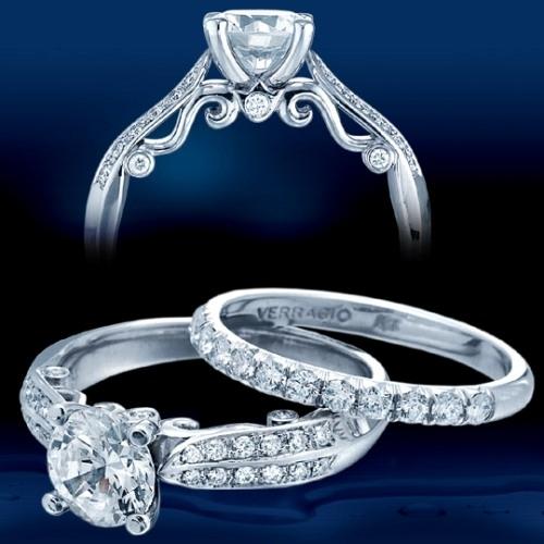 Verragio 14 Karat Insignia 7023 Engagement Ring