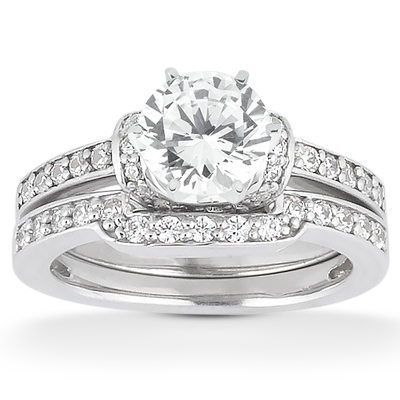 Taryn Collection 14 Karat Diamond Engagement Ring TQD A-4371