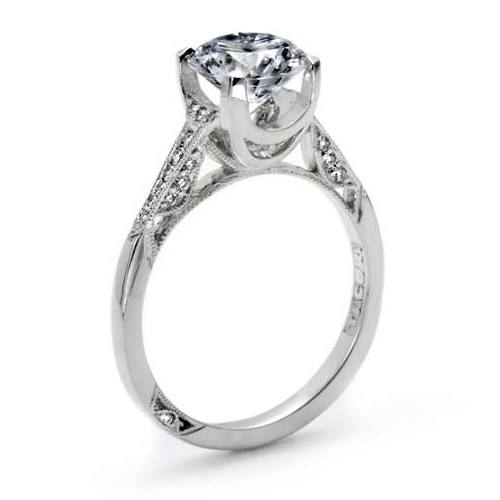 Tacori 18 Karat Simply Tacori Engagement Ring 2603RD75 Alternative View 3