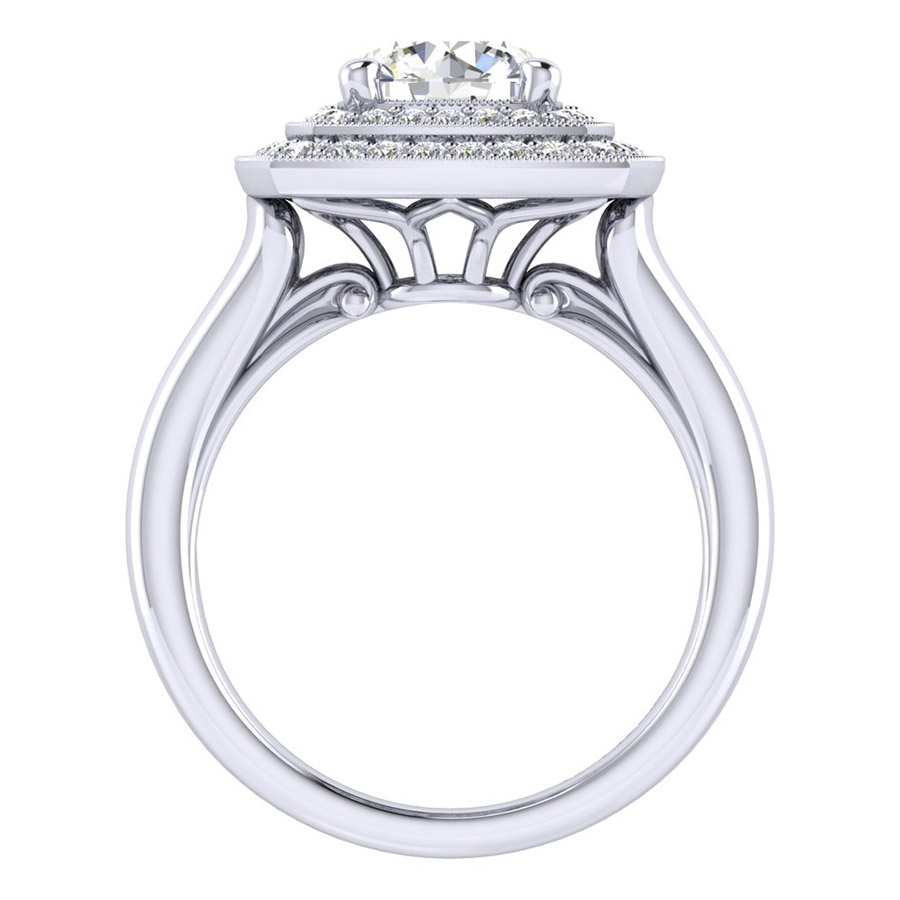 Gabriel 14 Karat Perfect Match Engagement Ring ER009C6AGW44JJ Alternative View 1