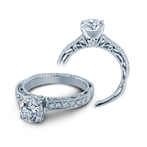 Verragio Venetian-5001R Platinum Engagement Ring