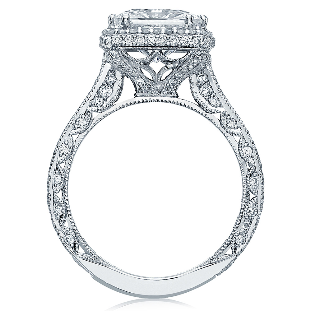 HT2607PR85 Platinum Tacori RoyalT Engagement Ring Alternative View 1