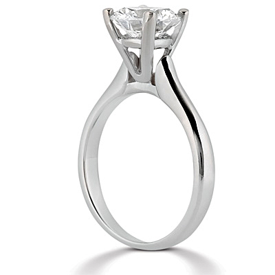 Taryn Collection Platinum Diamond Engagement Ring TQD 6566 Alternative View 1