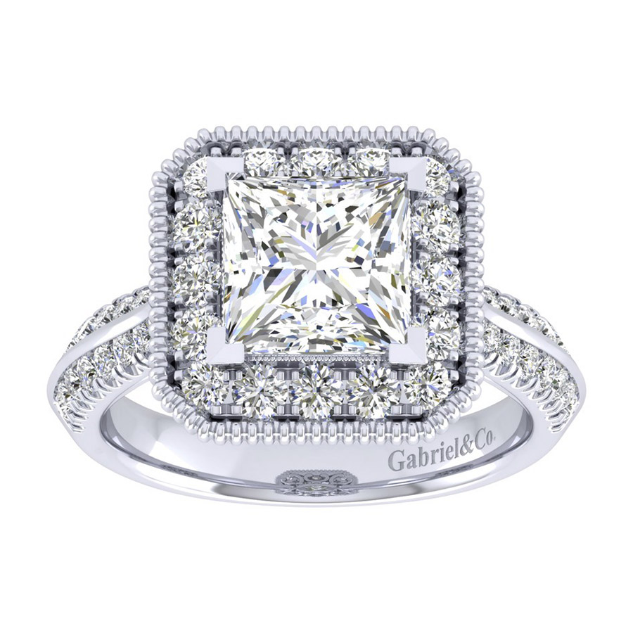 Gabriel 14 Karat Perfect Match Engagement Ring ER002C8ALW44JJ Alternative View 4