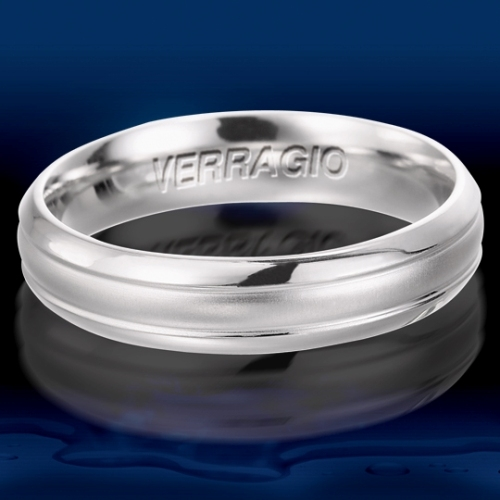 Verragio Platinum Wedding Band VW-5017 Alternative View 1