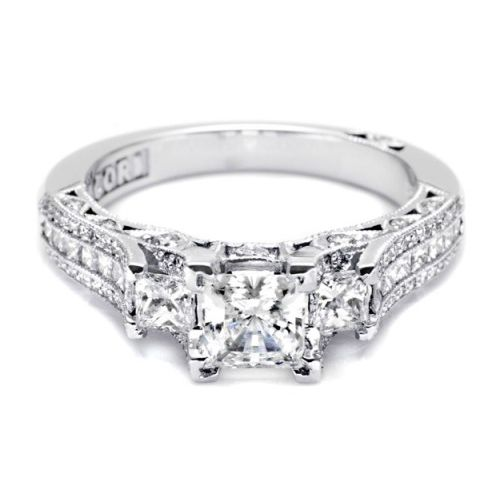 Tacori Crescent 18 Karat Engagement Ring HT2514PR512X