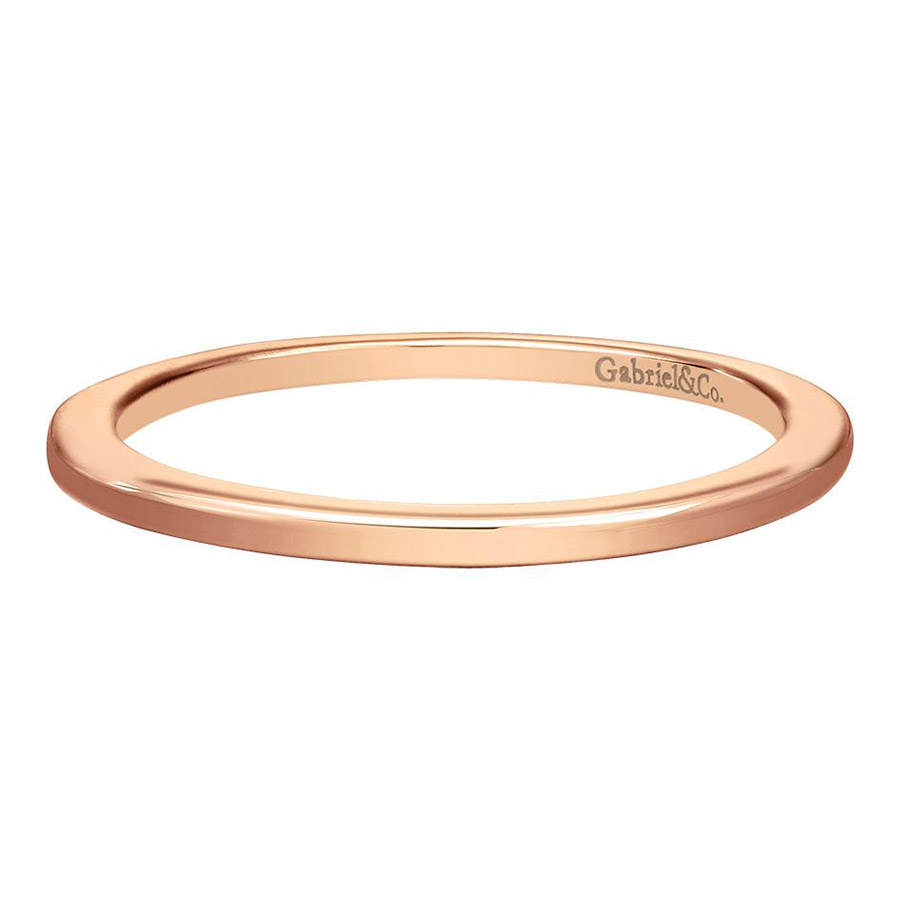 Gabriel 14 Karat Contemporary Wedding Band WB7268K4JJJ